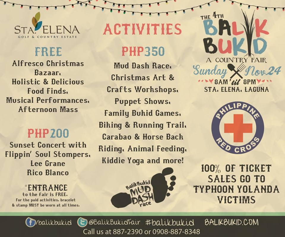 An invitation to the 4th Balik Bukid Fair