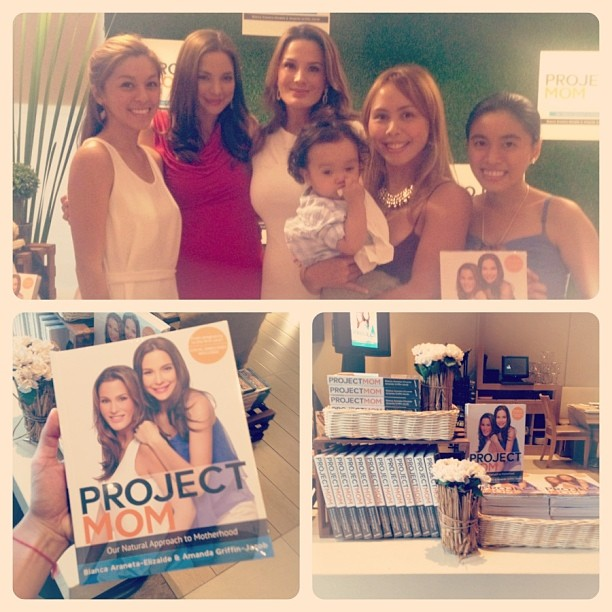 All Smiles for Project Mom Book